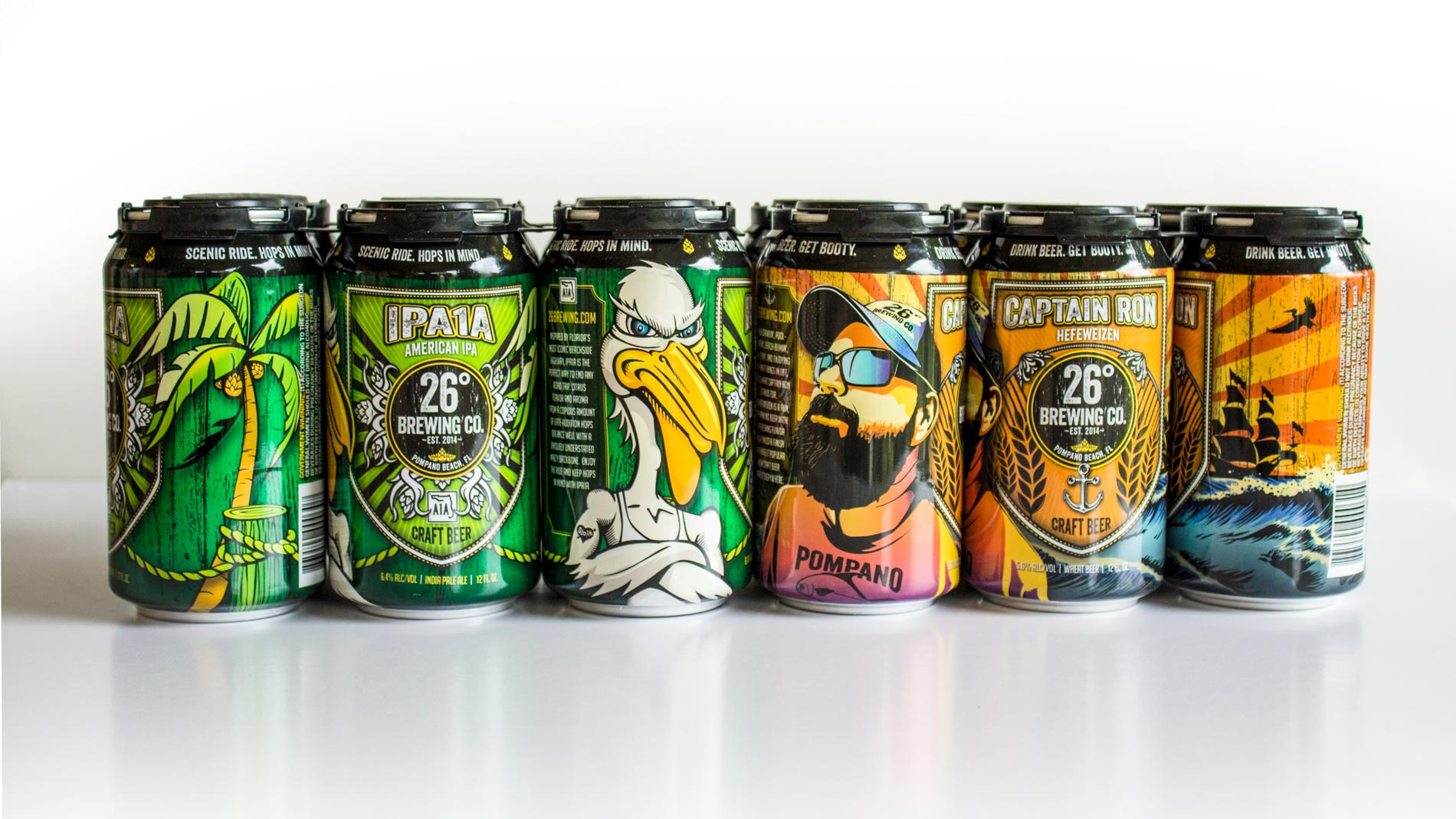 26 Degrees Brewing Company Cans
